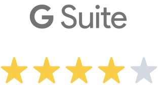4 out of 5 Stars review from Gsuite