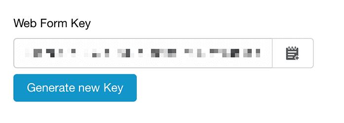 Website contact form integration   Capsule CRM