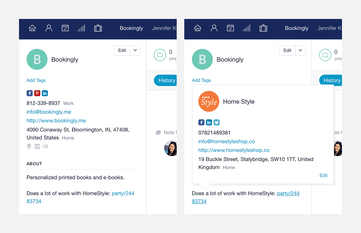 Managing Contacts | Capsule CRM