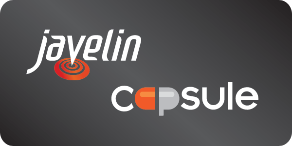 Javelin and Capsule logos