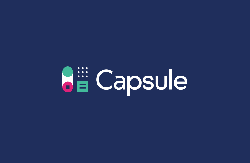 New Logo and Brand for Capsule
