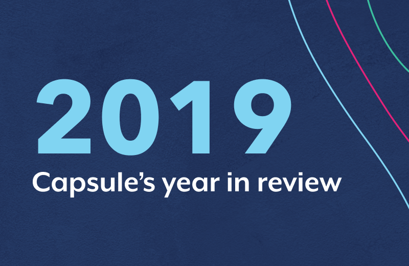 Cheers to 2019! Here's our year in numbers